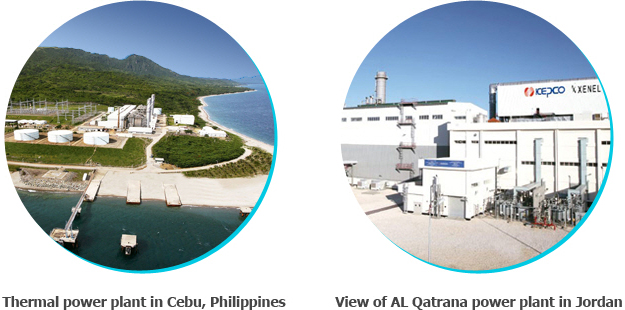 Thermal power plant in Cebu, Philippines, View of AL Qatrana power plant in Jordan image
